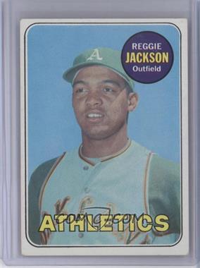 1969 Topps #260 - Reggie Jackson RC (Rookie Card)