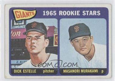 1965 Topps #282 - Rookie Stars/Dick Estelle RC (Rookie Card)/Masanori Murakami RC (Rookie Card) [Good to VG‑EX] - Courtesy of COMC.com