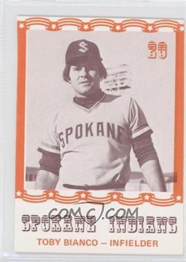 1976 Spokane Indians Caruso #20 - Toby Bianco - Courtesy of COMC.com