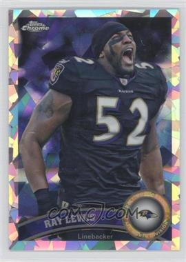2011 Topps Chrome Crystal Atomic Refractors #2 - Ray Lewis/139 - Courtesy of COMC.com