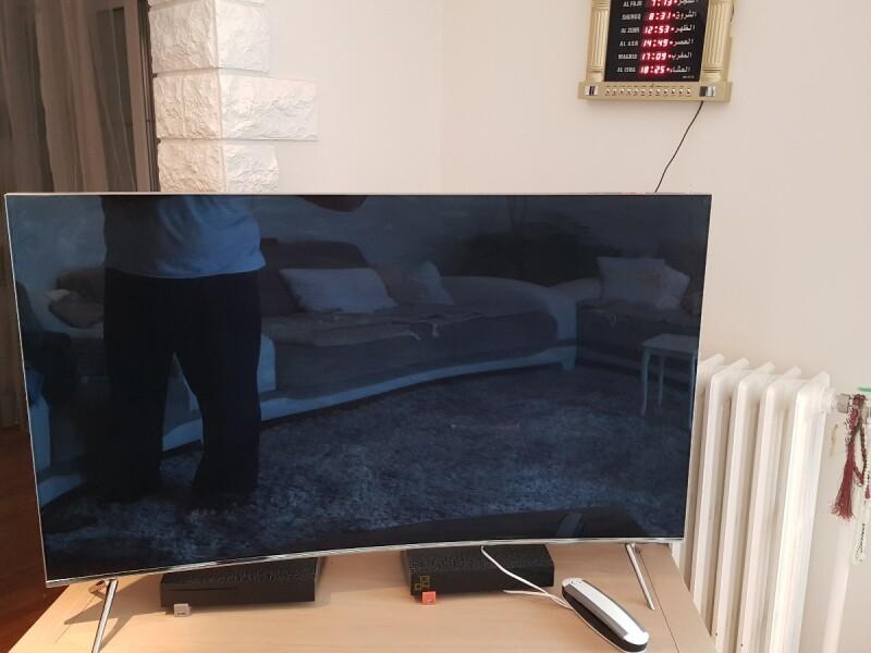 ecran tv incurve samsung fissure de l