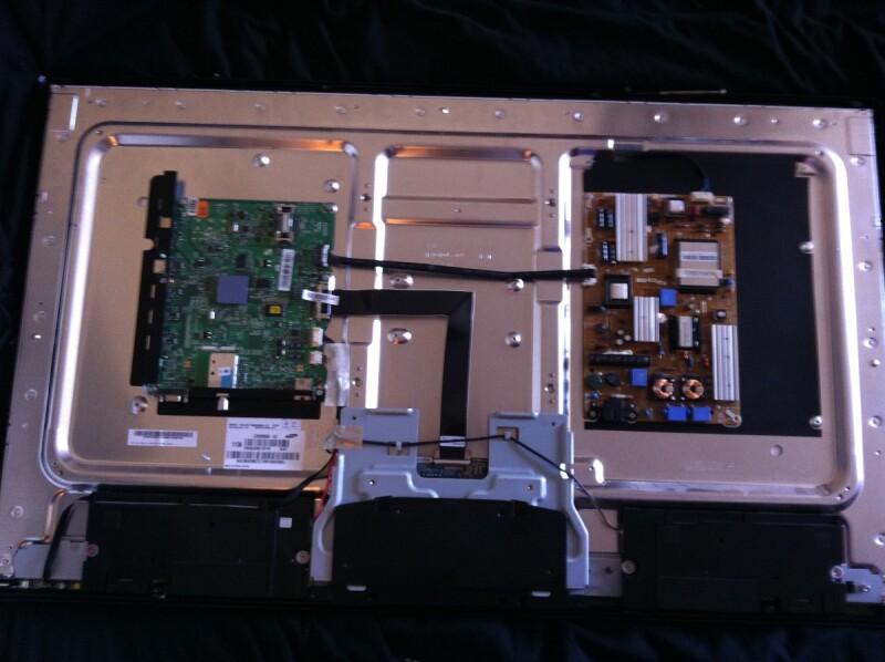 reparer tv led samsung ue40d5000 moitie