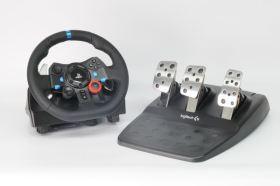 沉浸在虛擬的駕駛之旅 – Logitech G29 DRIVING FORCE 賽車方向盤
