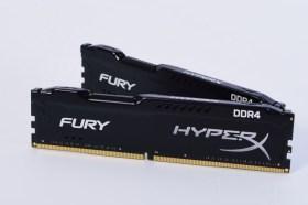 Kingston HyperX Fury DDR4 2666 16GB Kit記憶體