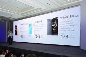 華碩 ZenFone 3 / Deluxe / Ultra 齊發, 雙面玻璃 與 金屬機身, 旗艦 Deluxe 499 起