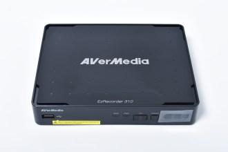 AVerMedia EzRecorder 310 開箱分享 / 高畫質預約錄影 操作簡易又方便