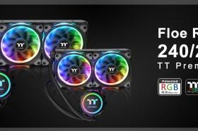 曜越全新Floe Riing RGB TT Premium頂級版一體式水冷散熱排