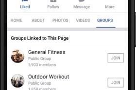 Facebook推出社團及粉絲專頁相互連結新功能