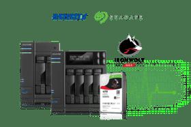 華芸科技與希捷整合IronWolf 健康管理至ASUSTOR NAS系統