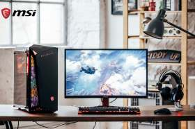 微星科技宣布全新Infinite系列–無極限電競桌機 震撼上市 永不停息,滿足你對電競的渴望