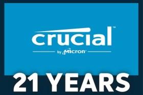 Crucial 歡慶 21 週年 持續擴大記憶體和 SSD 產品線 深化 Ballistix 電競記憶體