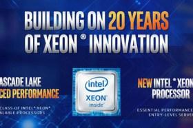 英特爾透過Cascade Lake Advanced Performance和Xeon E-2100處理器展示以資料為中心之平台廣度