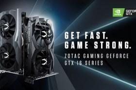 ZOTAC GAMING GeForce® GTX 16顯示卡陣容 加入全新1660系列
