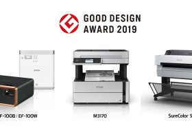 科技產品也能很時尚!Epson十項產品獲2019 Good Design Award大獎肯定