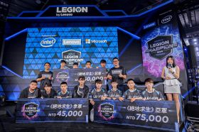 Lenovo第四屆Legion菁英賽事激烈 總冠軍M1 Esports技壓全場隊長奪下MVP