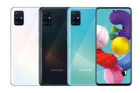 三星超強4+1鏡頭+美背設計Galaxy A51即將開賣