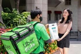 除了送餐還能送藥妝與日用品外送!Uber Eats 30分鐘內滿足嬰兒到銀髮族需求