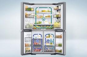 三星推出全新三循環多門旗艦冰箱