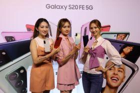 三星推出Galaxy S20 FE 5G輕旗艦時尚手機 3200萬像素前鏡頭與30倍變焦是賣點