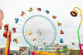 JETS 嘉年華桃園場正式開幕 Skydiver 尖叫飛天輪讓大家嗨翻天