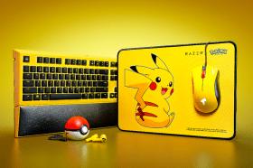 Pokemon迷快搶!Razer|寶可夢皮卡丘聯名限定款耳機鍵盤開賣