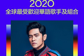 Spotify 公佈 2020 年最受歡迎的華語流行音樂藝人和歌曲