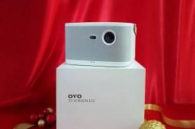 今年送禮美科技媒體狂推串流影音產品!OVO智慧投影機年終特賣