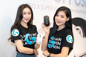 Logitech G 推出 PRO X SUPERKIGHT輕量化無線電競滑鼠
