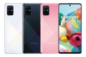 首款擁有6,400萬畫素4+1鏡頭 三星Galaxy A71即將開賣