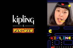 挑戰真人版吃豆豆!Kipling 攜手PAC-MAN推出IG濾鏡遊戲