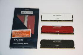 性價比超高又能大玩RGB燈效與超頻 Crucial Ballistix RGB DDR4-3600試用報告