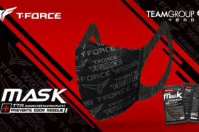 十銓科技2021打造生活新態度  推出T-FORCE抗臭電競風格口罩