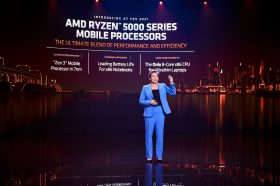 AMD 發表宣稱全球最強大的RYZEN 5000 系列行動處理器