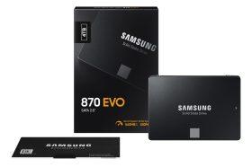 效能再提升!三星發表全新870 EVO SATA III 介面固態硬碟
