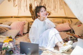 Acer Swift時尚風格野餐日!紀卜心、Nina展示最具時尚風格的Swift新機種