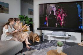 三星在台推出The Premiere超短焦雷射4K智慧電視與新款Frame、Serif以及Sero電視