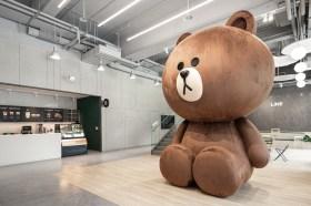 """超夢幻的辦公空間!LINE台灣新家落成搶先曝光!全球最大MIT熊大和這些焦點搶""""鮮""""看"""