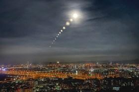 「超級血月」您也拍到了嗎?攝影師分享透過iPhone 12 Pro拍下月全食軌跡的照片和技巧!
