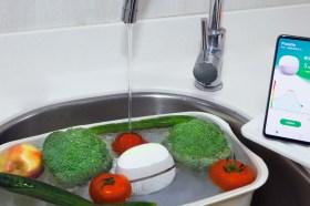 讓全家人吃得更放心!華碩PureGo蔬果洗淨偵測器開箱使用分享