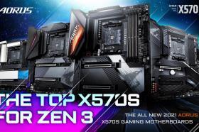 技嘉推出全新AMD X570S系列主機板!搭載最高16相直出數位電源設計+4組PCIe 4.0 M.2