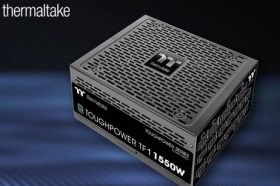 1550W鈦金牌認證電源!曜越宣布推出曜越鋼影Toughpower TF1 Premium頂級版