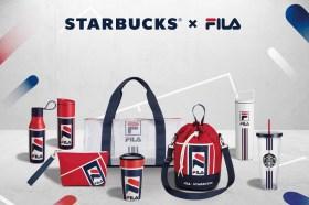 超Sport的聯名!星巴克與FILA合作聯名推出設計商品