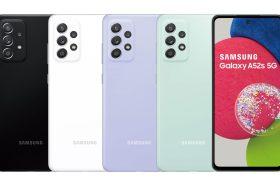 加購耳機折2000!三星防水豆豆機Galaxy A52s 5G極速進化登台開賣