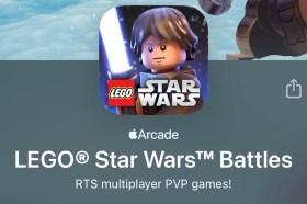 大人小孩和樂高星戰迷快看!Apple Arcade 獨家《樂高星際大戰戰鬥》炫風即將來襲!