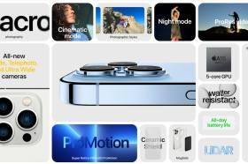 iPhone 13 Pro / 13 Pro Max登場!帶來A15仿生晶片、120Hz螢幕更新率