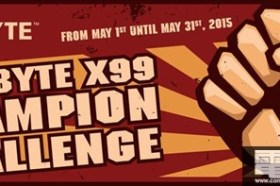 技嘉X99 CHAMPION 超頻挑戰賽將於HWBOT盛大展開