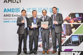 AMD攜手QNAP首次在台展出搭載AMD嵌入式G系列SoC NAS系統