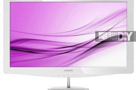 蘋白美豔 秀外慧中PHILIPS 248C3LHSW液晶顯示器