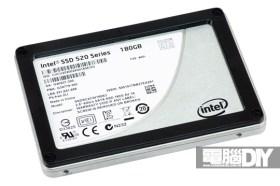 強者再現 出類拔萃 Intel 520系列 180GB固態硬碟