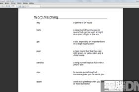 語言相關軟體Word Matching